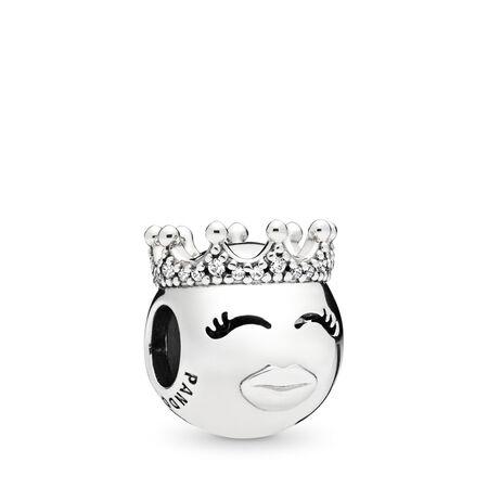 Princess Charm, Clear CZ