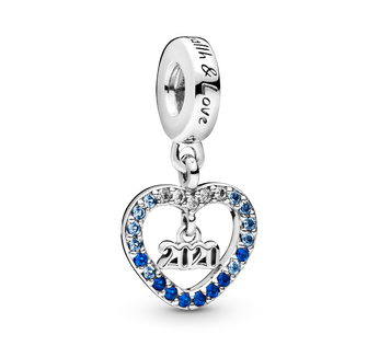 2020 New Year Dangle Charm