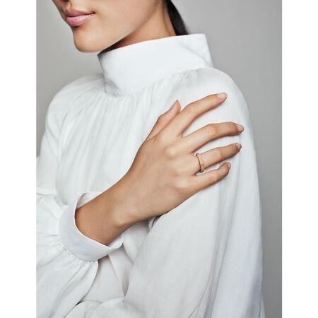 Matte Brilliance Ring, Pandora Rose™