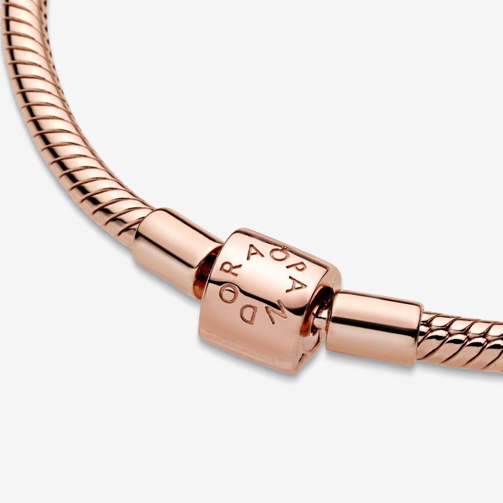 Pandora Moments Barrel Clasp Snake Chain Bracelet   Pandora US
