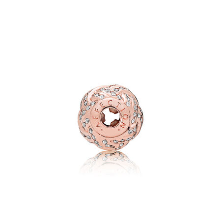 AFFECTION Charm, PANDORA Rose™ & Clear CZ