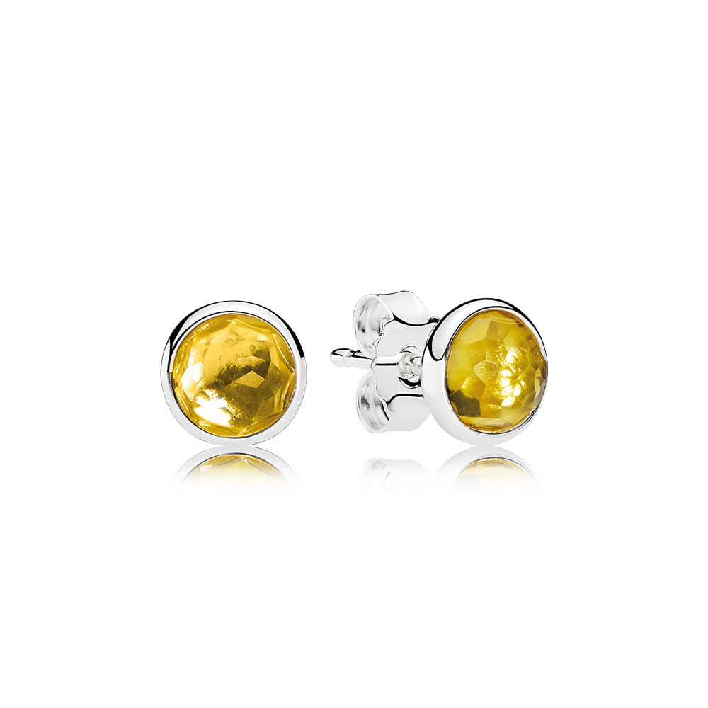 jaipur products petite color citrine earrings jaipurcitrinestudearrings stud gold yellow