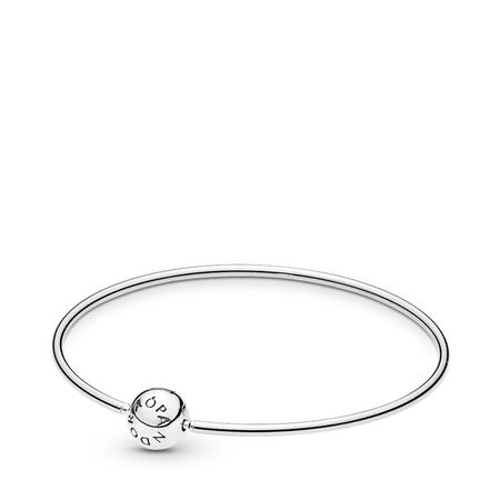PANDORA ESSENCE COLLECTION Bangle Bracelet, Sterling silver - PANDORA - #596006