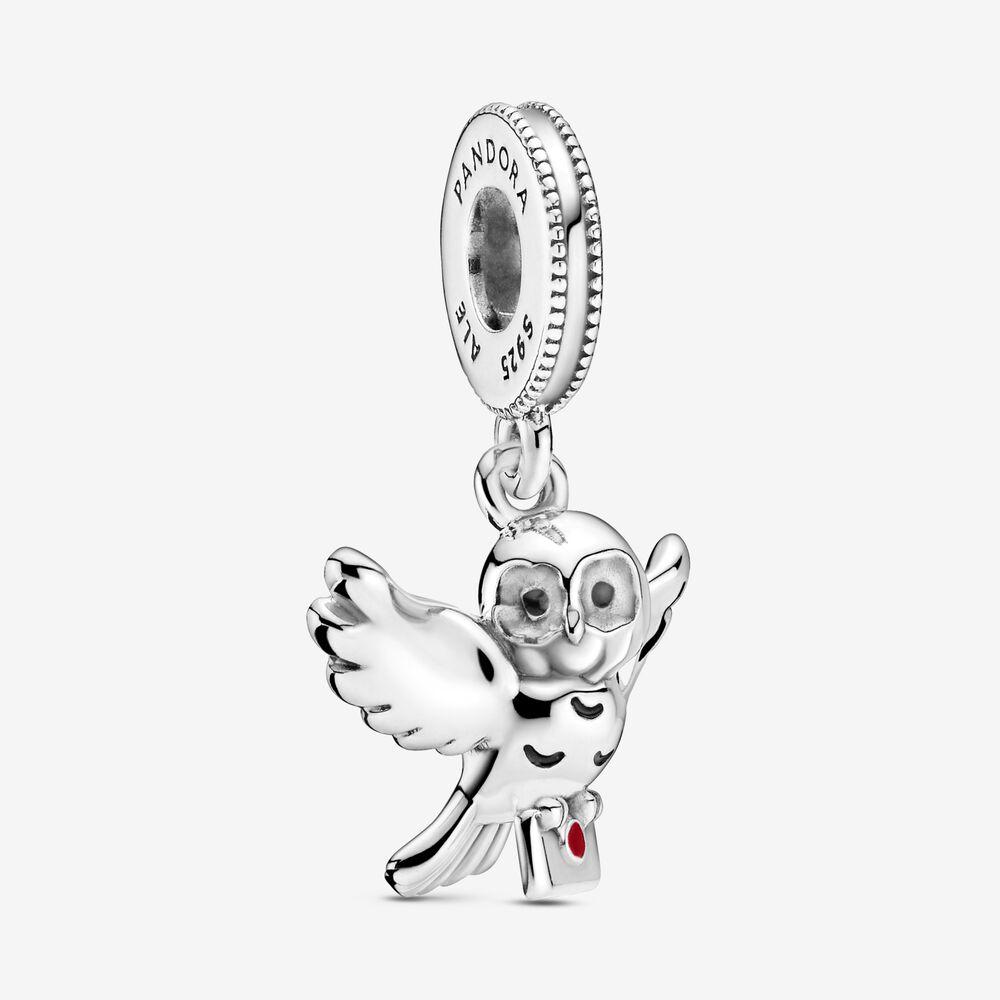 Harry Potter Hedwig Owl Dangle Charm Sterling Silver Pandora Us