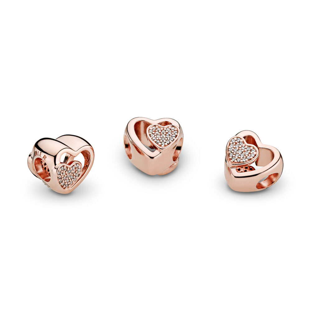 joined together charm pandora rose clear cz pandora jewelry us