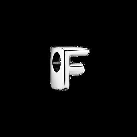 Letter F Alphabet Charm