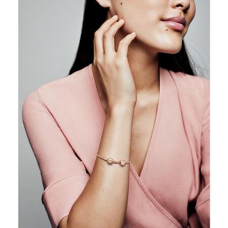 Matte Brilliance Heart Charm, Pandora Rose™