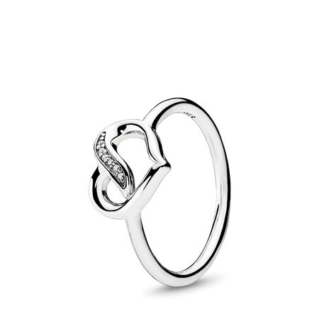 b695b9912 Dreams of Love Ring, Clear CZ Sterling silver, Cubic Zirconia