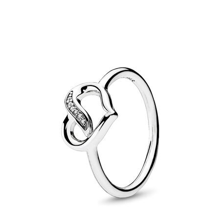 Dreams of Love Ring, Clear CZ, Sterling silver, Cubic Zirconia - PANDORA - #191022CZ
