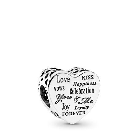 Celebration Heart Charm
