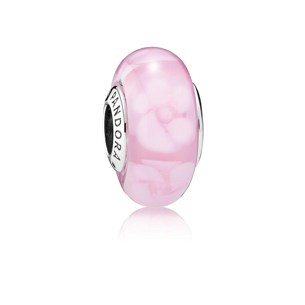 Nostalgic Roses Charm, Murano Glass | PANDORA Jewelry US