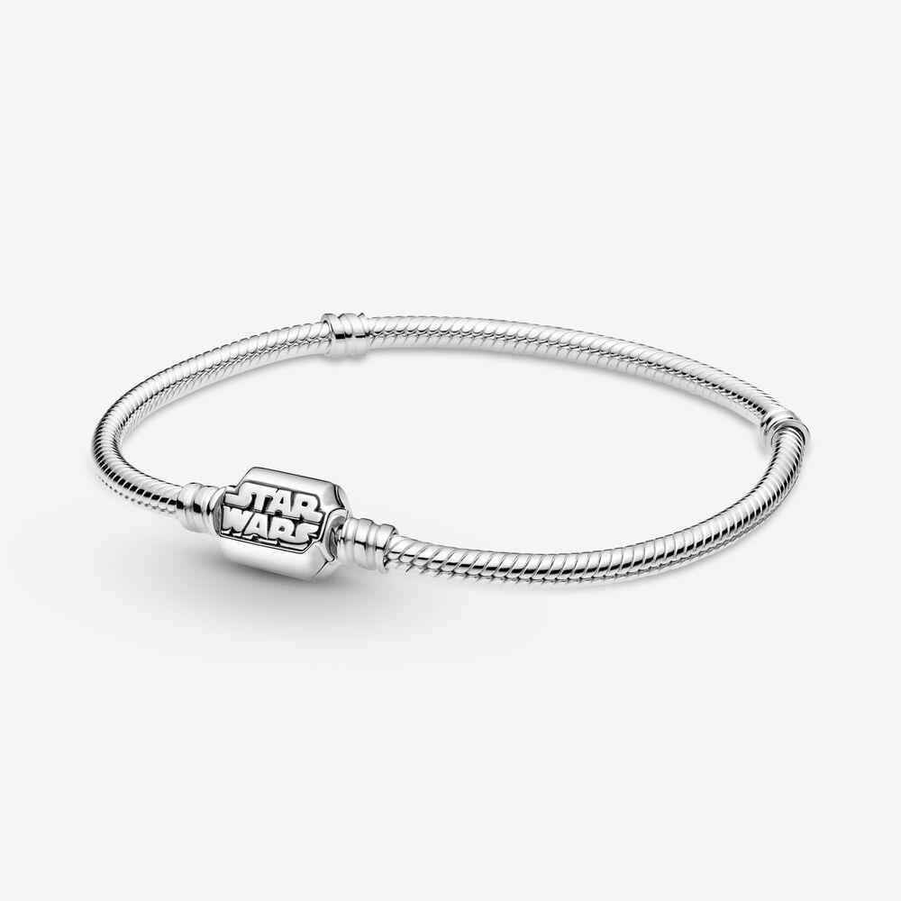 Pandora Moments Star Wars Snake Chain Clasp Bracelet | Sterling ...