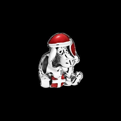 Disney Eeyore Christmas Charm