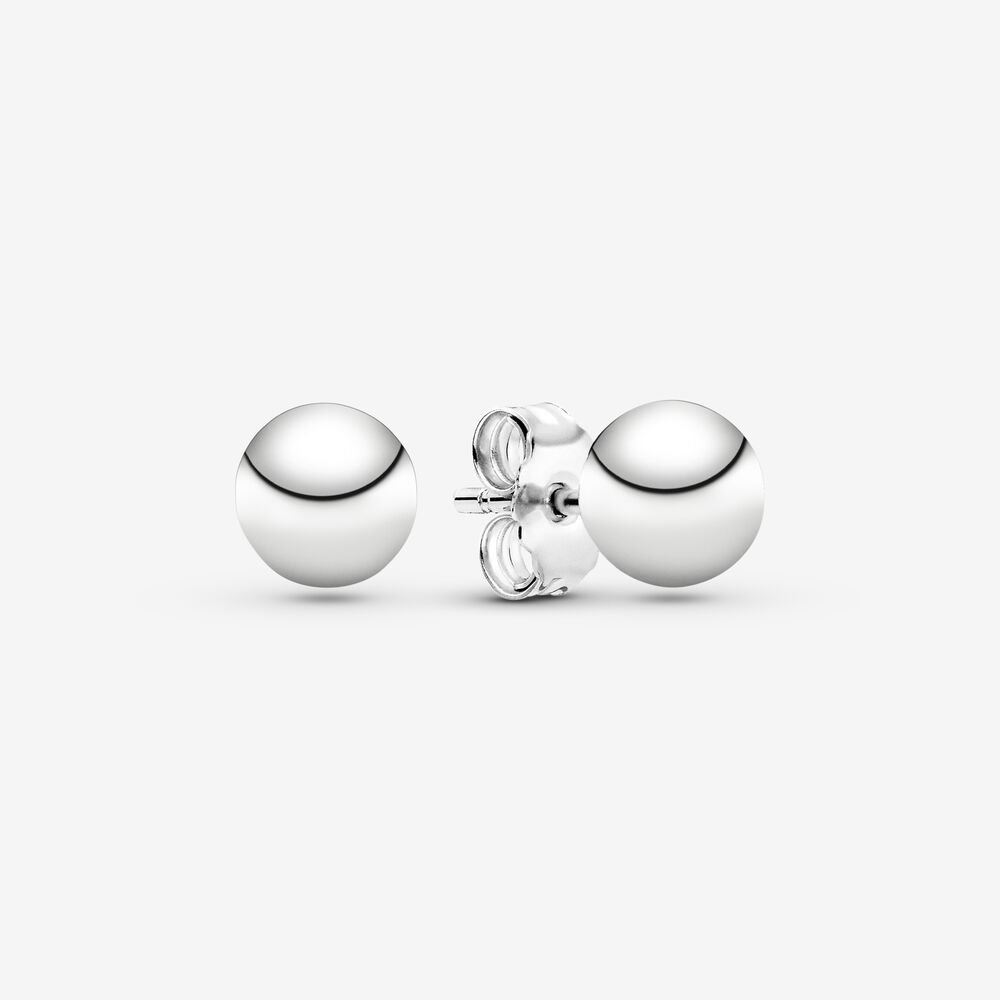 Classic Bead Stud Earrings