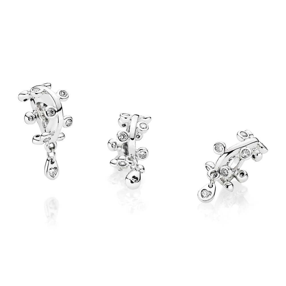 Chandelier droplets dangle charm clear cz pandora jewelry us mozeypictures Choice Image