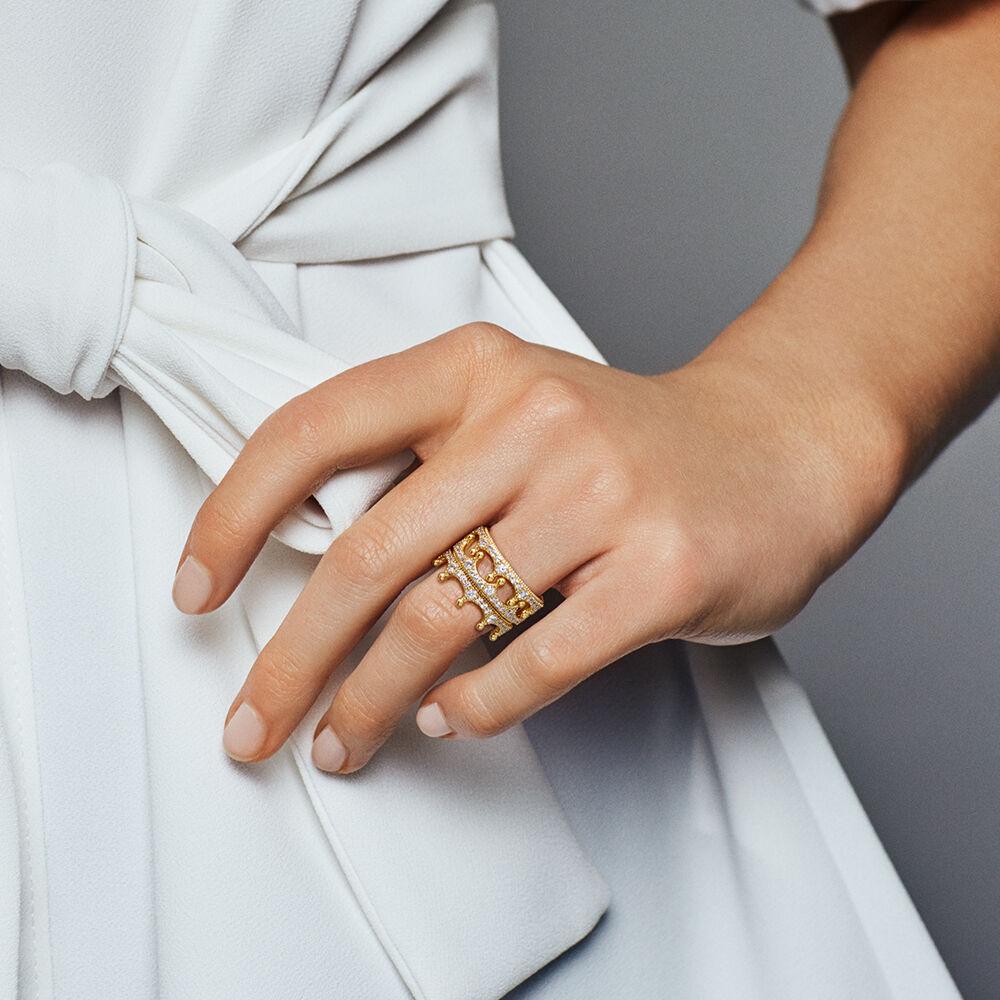 Enchanted Crown Ring Pandora Shine Amp Clear Cz Pandora