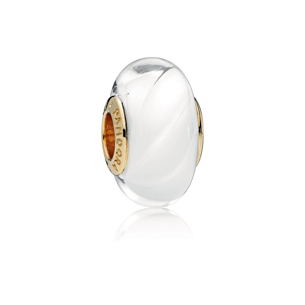 White Waves Charm Pandora Shine Amp Murano Glass Pandora