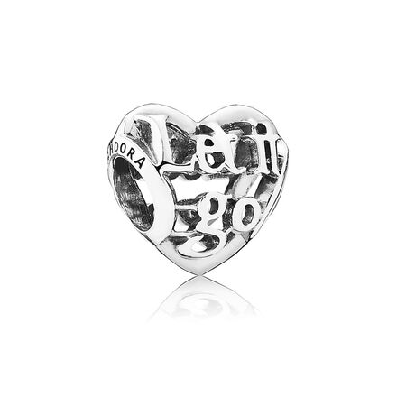 Disney, Let It Go Charm, Sterling silver - PANDORA - #791596