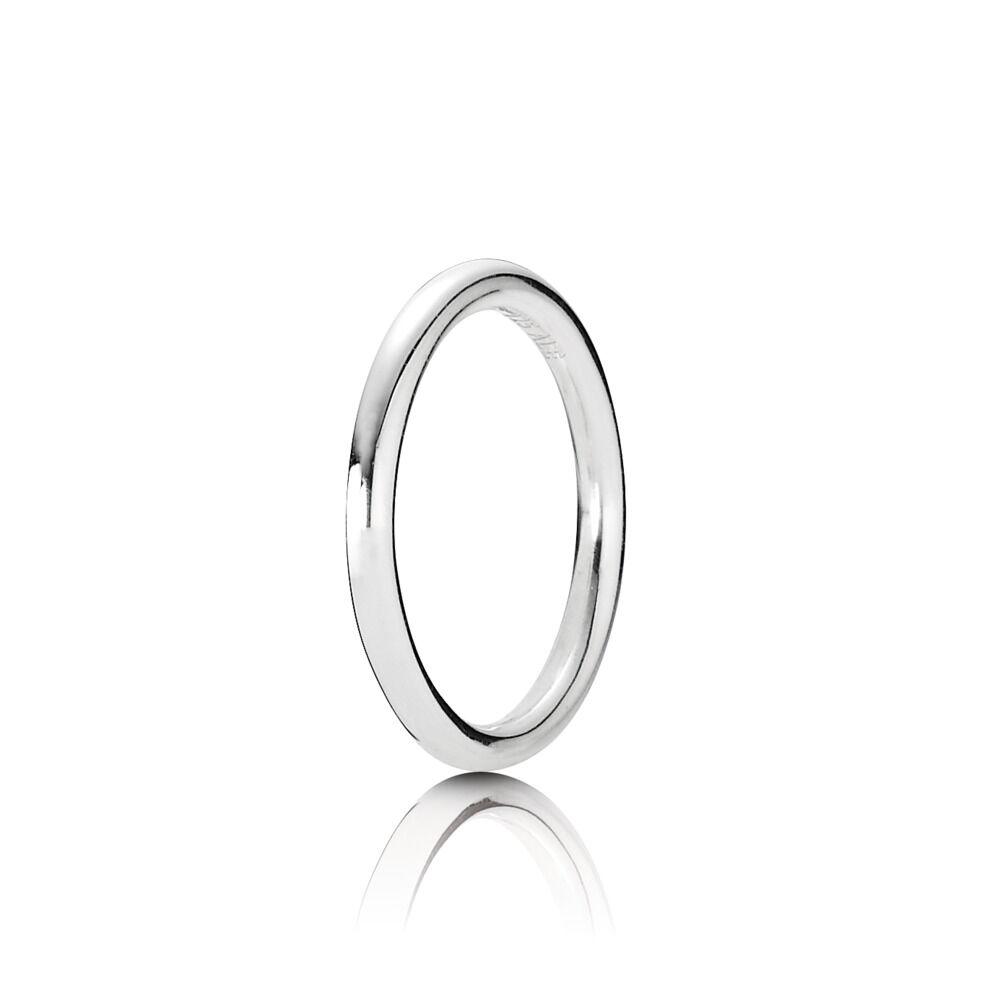 646843c26 Quietly Spoken Ring, Sterling Silver Oxidised - PANDORA - #190616-60