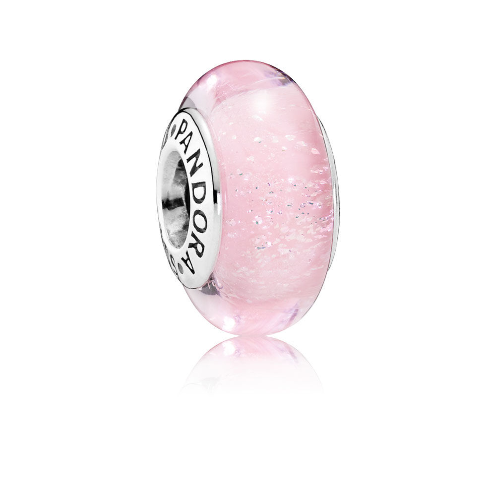 Disney, Aurora\'s Signature Color Charm, Murano Glass | PANDORA ...