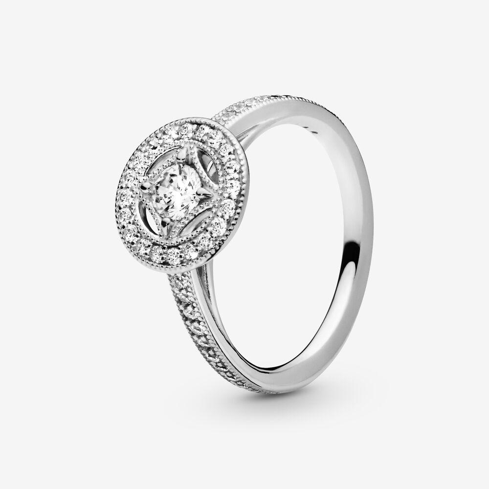 Vintage Circle Ring Silver Pandora Us