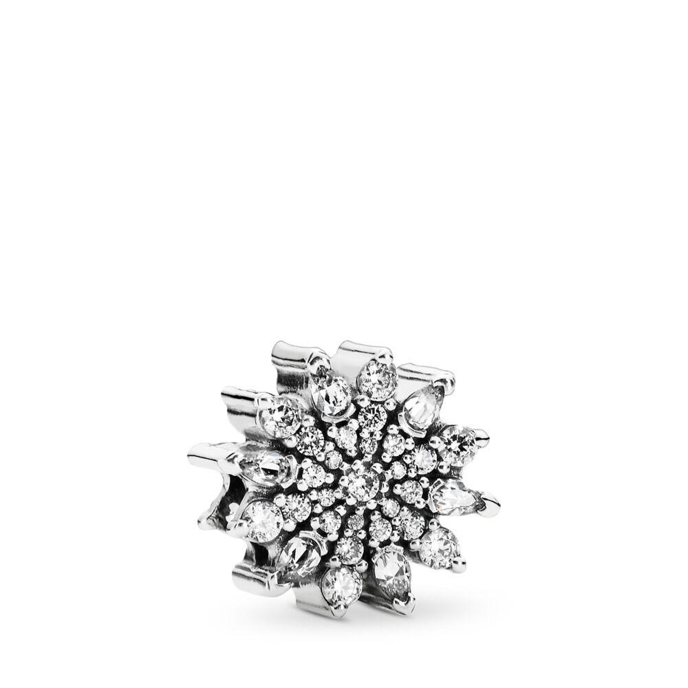 8c4de55e7 Ice Crystal Charm, Clear CZ