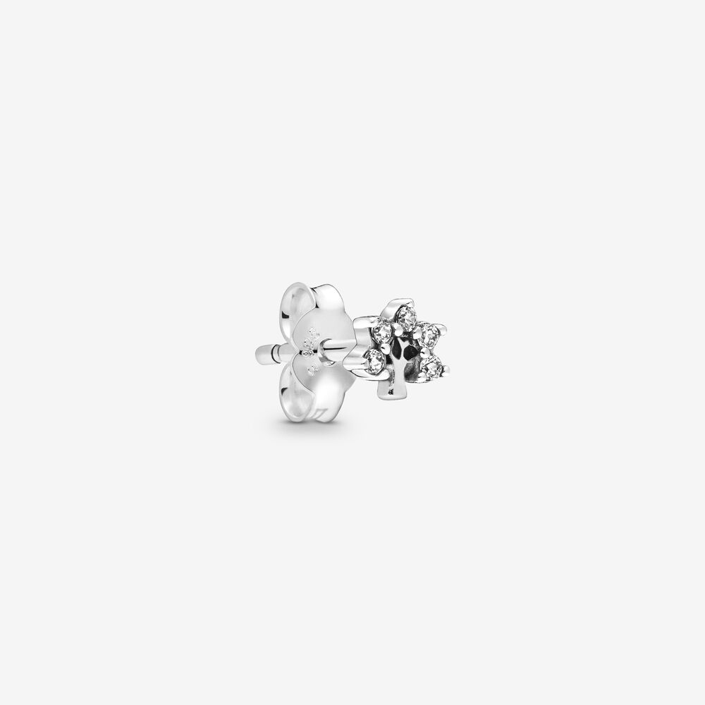 My Nature Single Stud Earring   Sterling silver   Pandora US