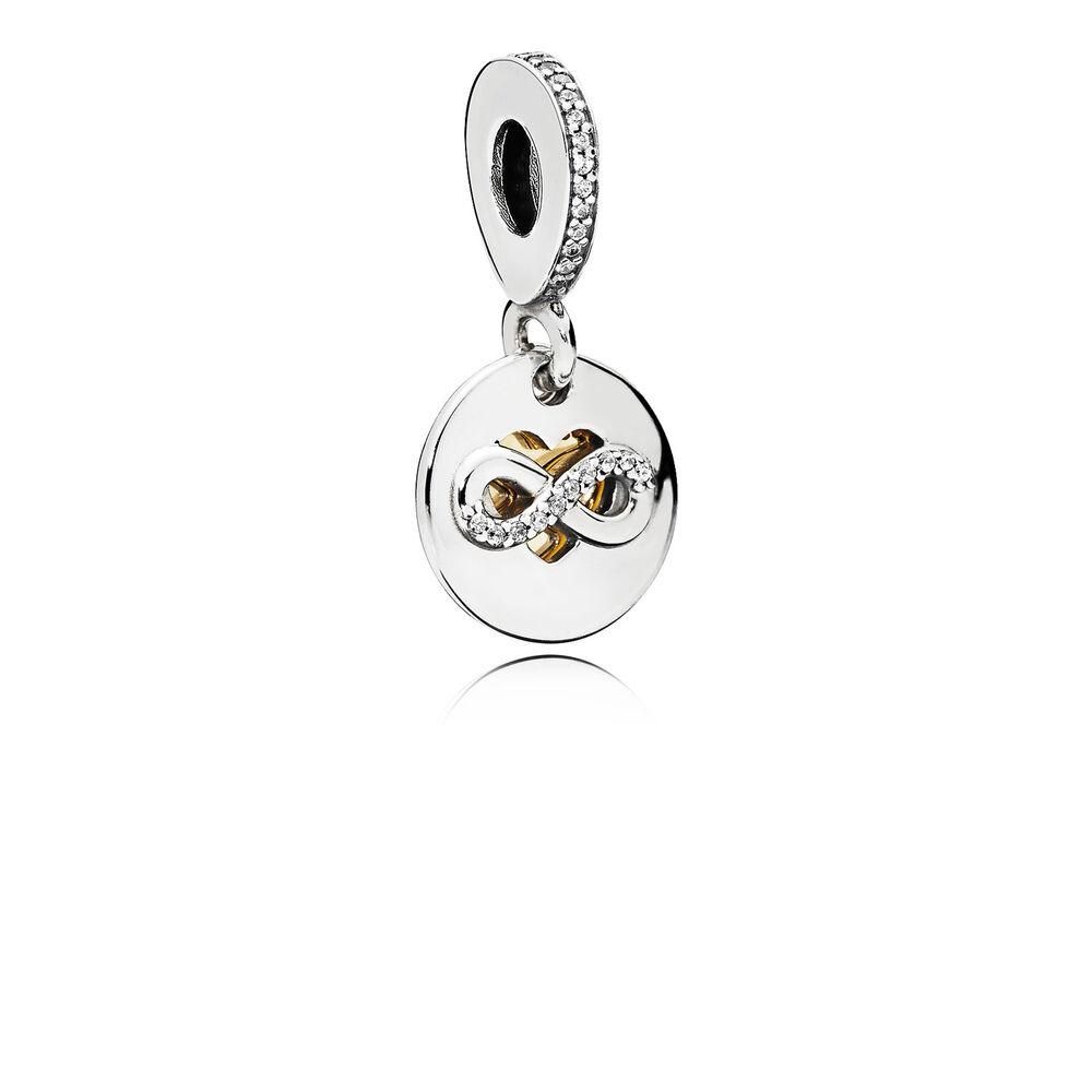 Heart of infinity dangle charm clear cz pandora jewelry u heart of infinity dangle charm clear cz biocorpaavc Gallery
