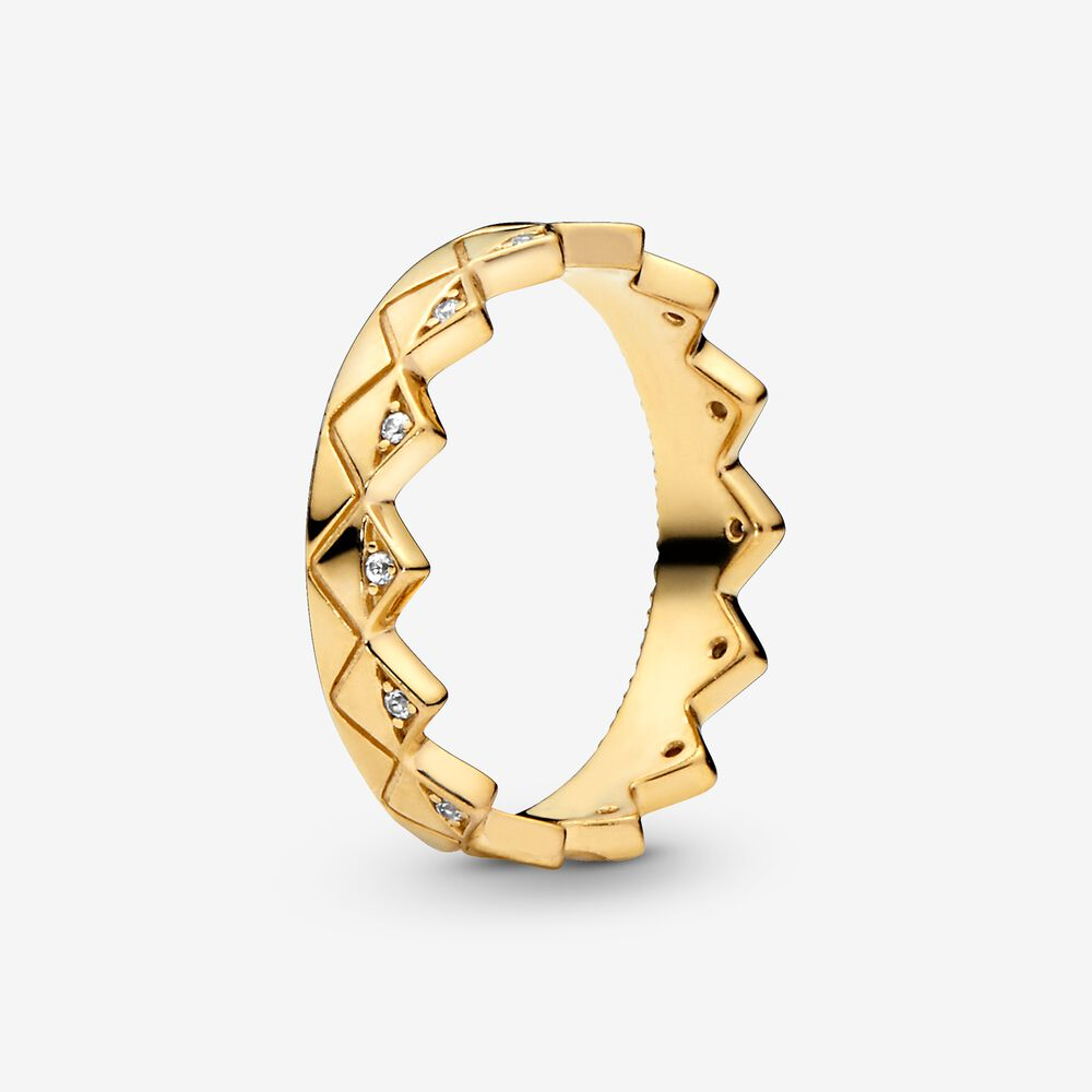 Geometric Crown Ring