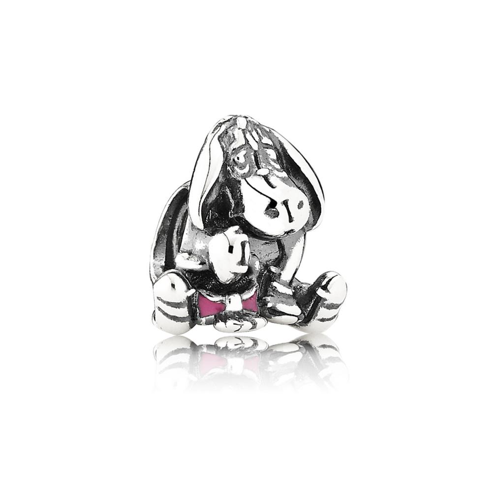 Pandora Charm Disney Eeyore 925Sterling Silver 791567EN80 k9Sbv7S