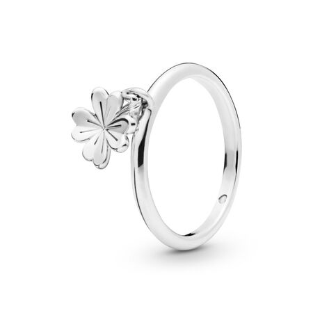 Dangling Clover Ring