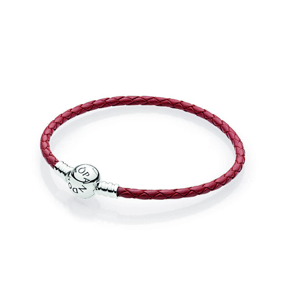 pandora leather bracelets
