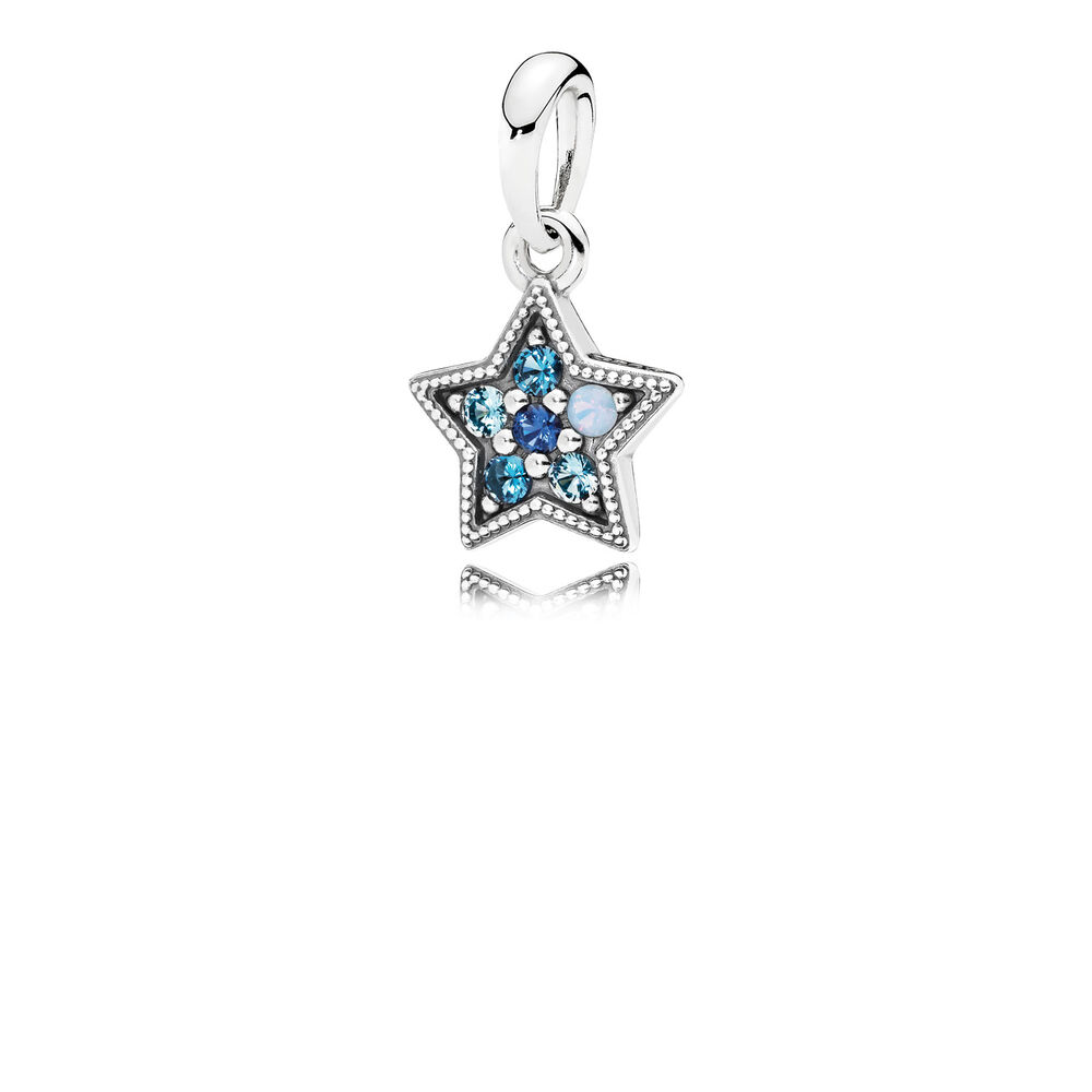 Bright star necklace pendant multi colored crystals pandora bright star necklace pendant multi colored crystals aloadofball Choice Image