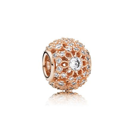 Inner Radiance Charm, PANDORA Rose™ & Clear CZ