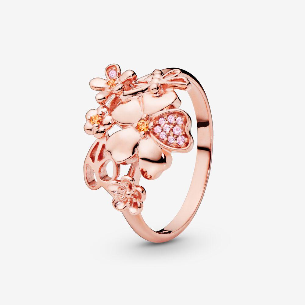 PavéFlower Ring