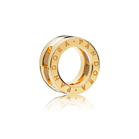PANDORA Reflexions™ Logo Clip Charm, PANDORA Shine™