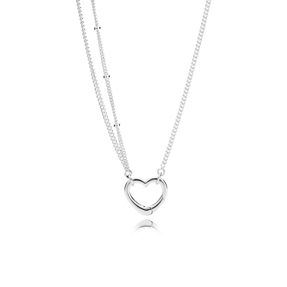 Open Heart Necklace Pandora Jewelry Us