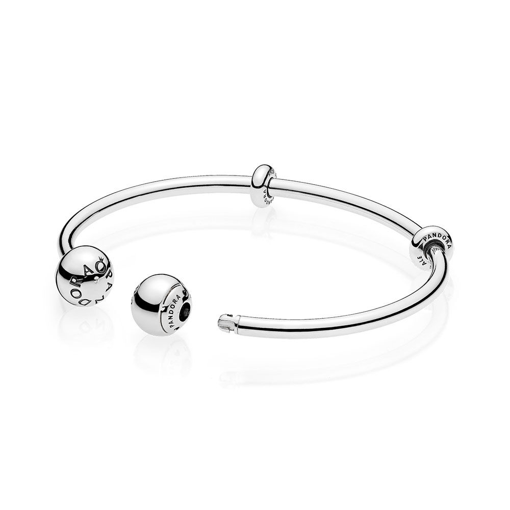 bangles pandora bracelet gifts a uk esto rose sets bangle open to en your how heart