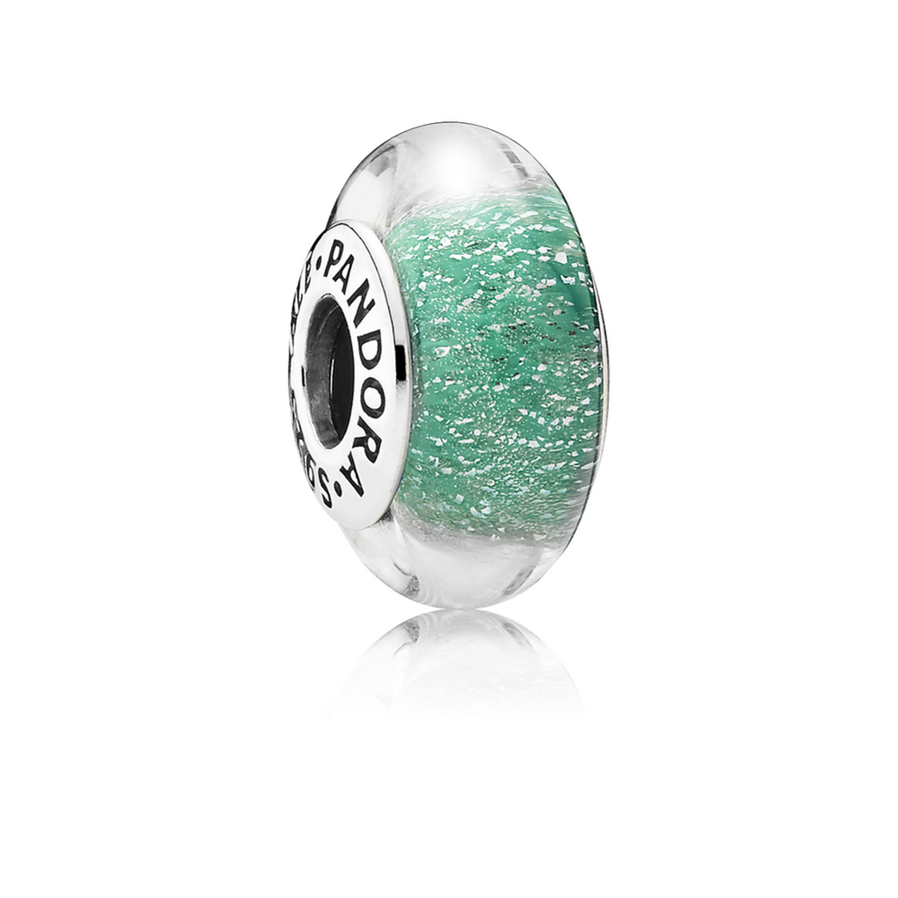 Disney, Ariel\'s Signature Color Charm, Murano Glass | PANDORA Jewelry US