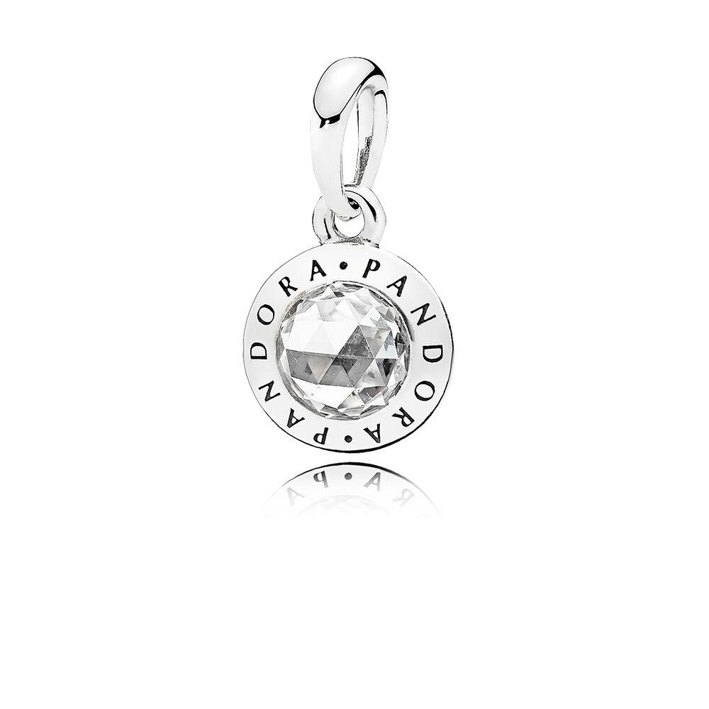 Radiant pandora logo pendant clear cz pandora jewelry us radiant pandora logo pendant clear cz aloadofball Image collections