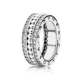 Forever PANDORA Ring, Clear CZ