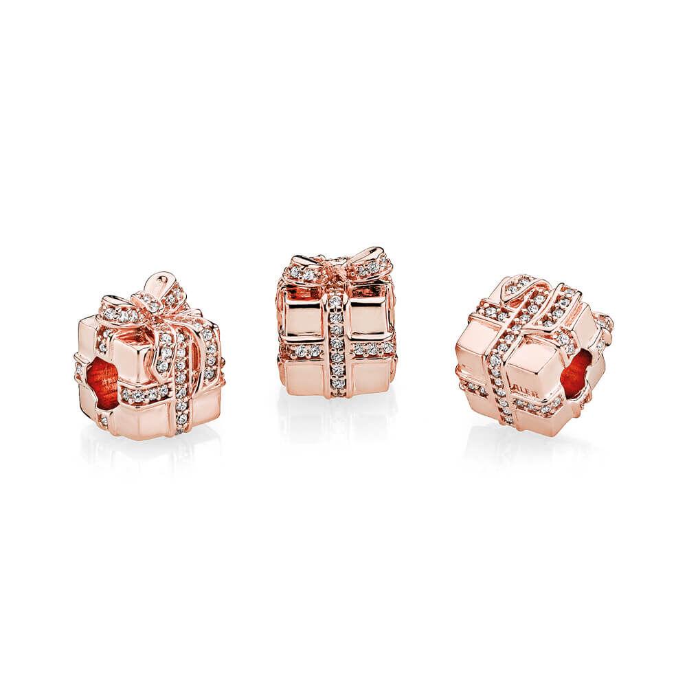 Sparkling Surprise Charm Pandora Rose Amp Clear Cz