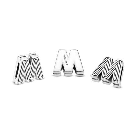 Pandora Reflexions™ Letter M Clip Charm
