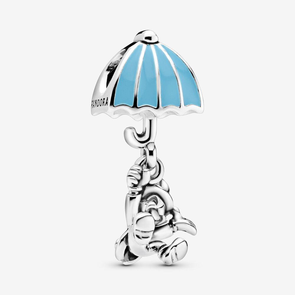 Disney, Jiminy Cricket Dangle Charm, Blue Enamel