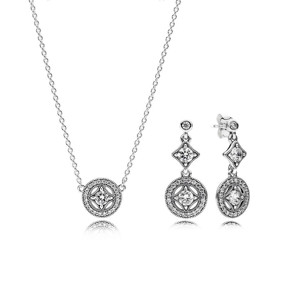 Vintage Allure Jewelry Gift Set PANDORA Jewelry US