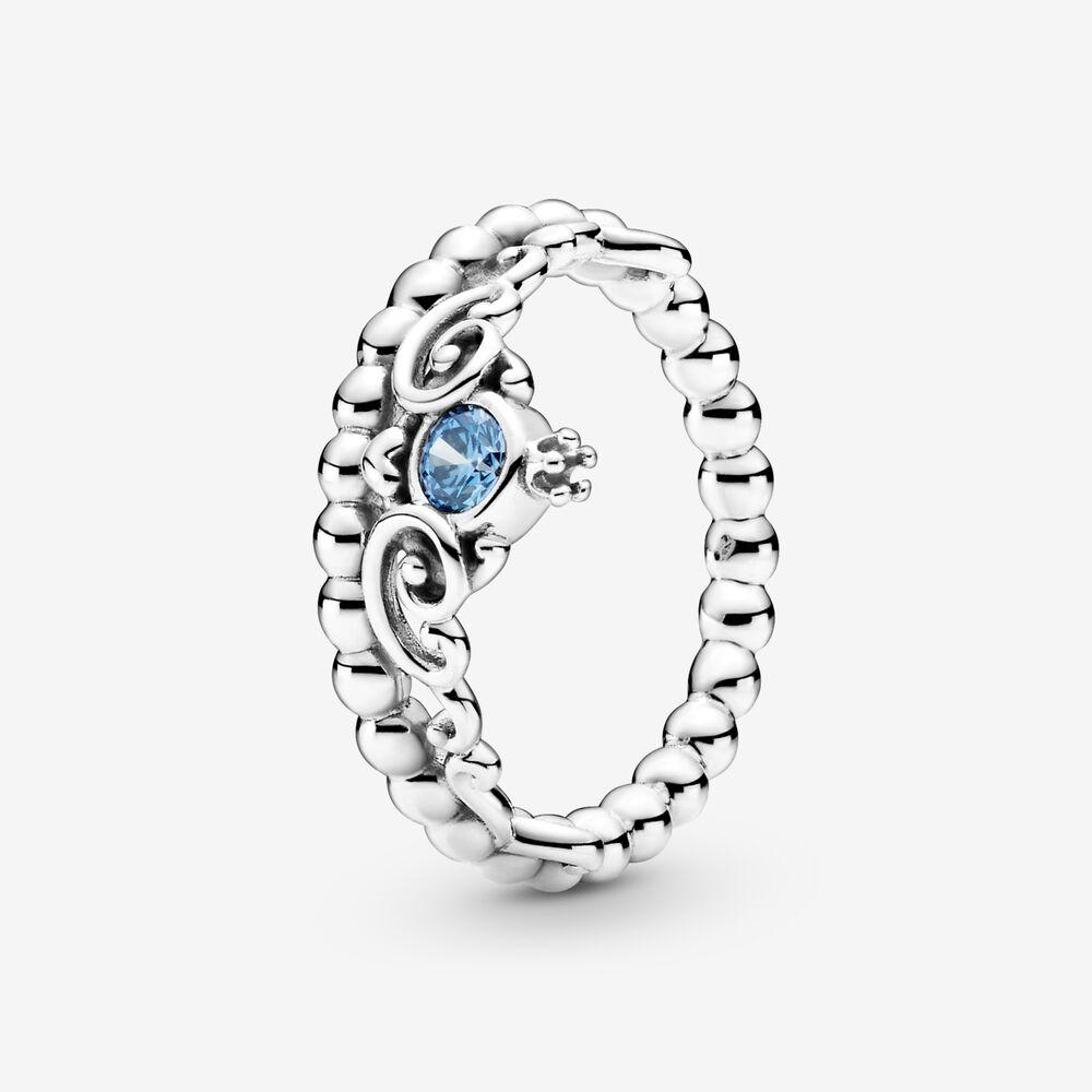 Disney Cinderella Blue Tiara Ring | Sterling silver | Pandora US