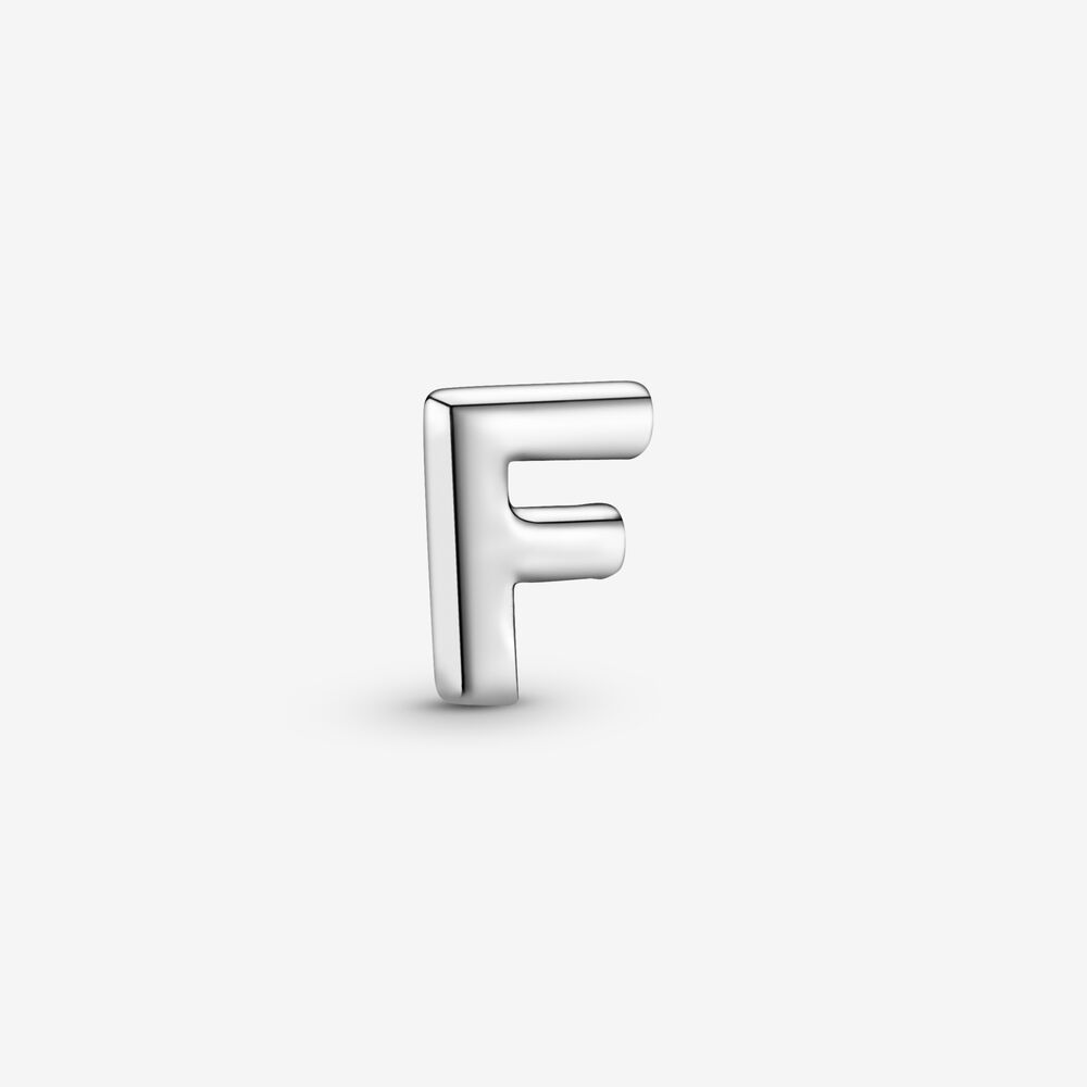 Letter F Alphabet Locket Element