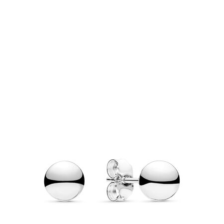 Classic Beads Stud Earrings Sterling Silver by Pandora
