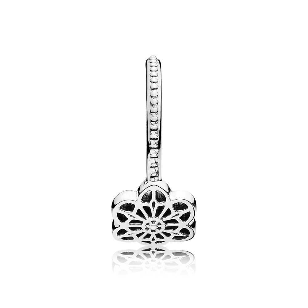 9ae784b0b Floral Daisy Lace Ring, Sterling silver - PANDORA - #190992-60