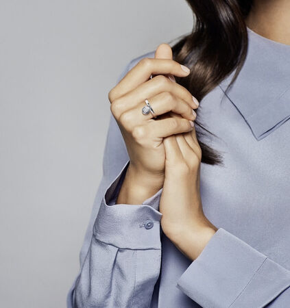 PANDORA Signature Ring, Clear CZ